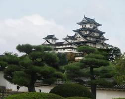 Himeji Castle by Alexandra-chan