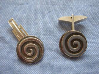 Hypnotique Cufflinks by colmark-designs