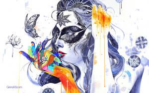 Wallpaper - Flower by greno89