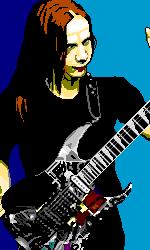 The great guitar virtuoso by arekuchan