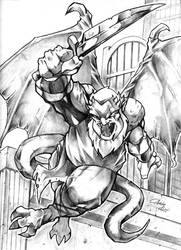 Hudson from Gargoyles by acook
