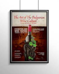 Wine Poster by aniadz