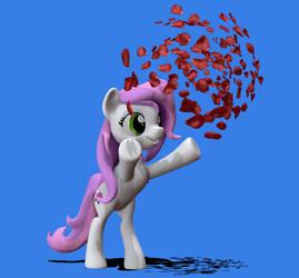 Petal Sparkle OC Pony by Harikon