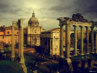 Roman Ruins by vrupatel