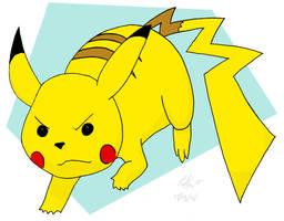 Pikachu by Chicken008