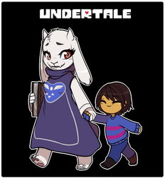 Oh Goat Mom| Undertale by J0VI