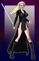 Dark Jedi Blonde by berkheit