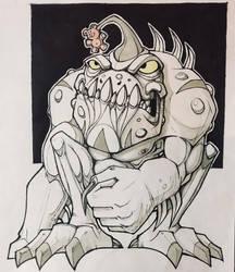 Monster muncher by berkheit