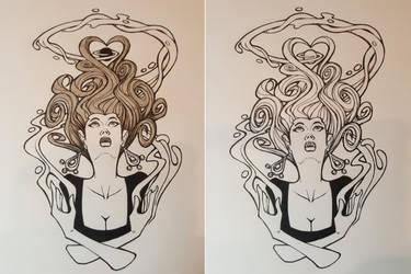 Magic girl by berkheit