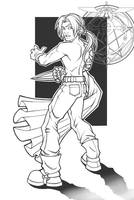 Non-Anime Ed by berkheit