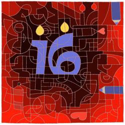 Happy 16th Deviantart! by grumpyattic