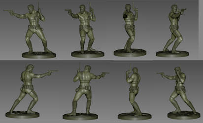 Nick Fury Comiquette Ver. 1.0 by poboyross