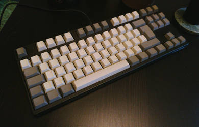 New blank PBT keycaps for my Filco Majestouch 2 by hundone