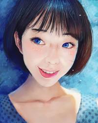 Blue by ArthurHenri