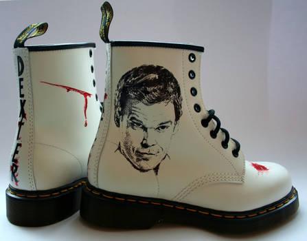Dexter Dr Martens Boots by RTyson