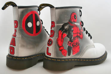Deadpool Dr Martens by RTyson