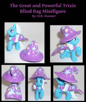 Trixie Blind Bag Minifigure by Gryphyn-Bloodheart