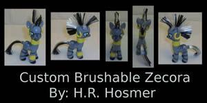Custom Zecora Brushable by Gryphyn-Bloodheart
