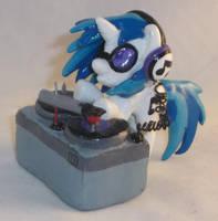 Custom Blindbag DJ P0N-3 and Turntable by Gryphyn-Bloodheart