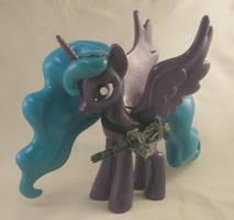 Funko Lacunae Fallout Equestria w Minigun by Gryphyn-Bloodheart