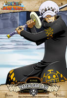 One Piece - Trafalgar Law by OnePieceWorldProject