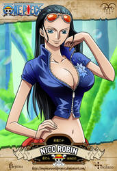 One Piece - Nico Robin by OnePieceWorldProject