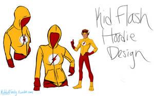 Kid Flash Hoodie Design by Chibi-Aeri-Chan