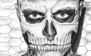 Rick Genest by 22Zitty22