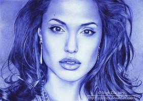 Angelina Jolie by 22Zitty22