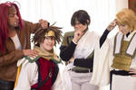 Saiyuki - Just Another Day in Shangri-La by Rurounichan