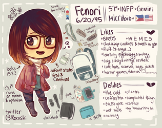 meet the artist! by Fenori