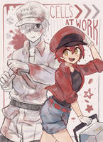 cells!! at work!! by Fenori