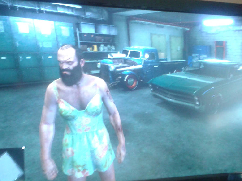 My Gta V Garage Trevor By Pudgemountain On Deviantart