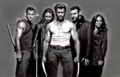 X-Men Origins: Wolverine by TeamMatrix12