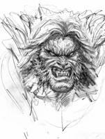 Sabretooth sketch by arjorda