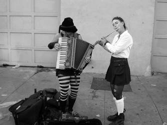 Street Performers by aMentalSymphony