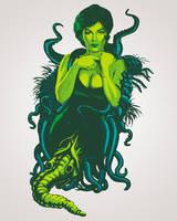 Lovecraftian Beauty by tommullin