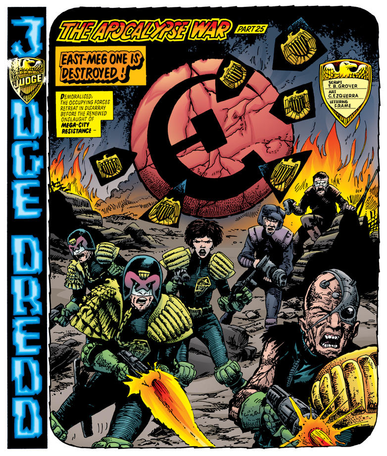 Apocalypse War 384 colored by tommullin
