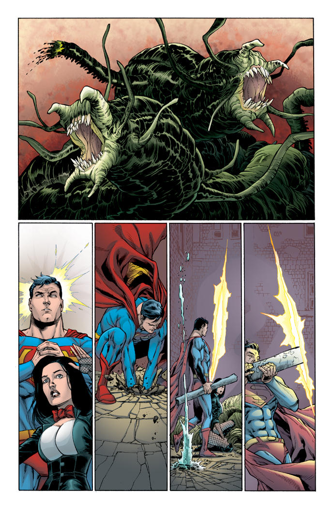 Superman #667 page 5 by tommullin