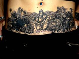 Avenged Tattoo by Selenia-Dark-Angel