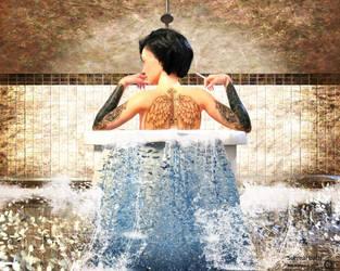 Surreal bath by maukzone
