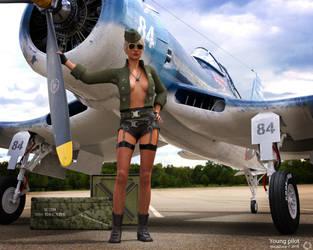 Young pilot by maukzone
