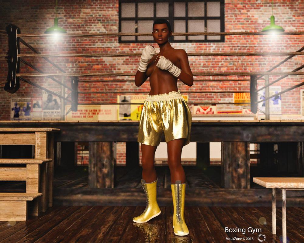 Boxing Gym by maukzone
