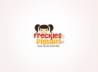 frecklesandpigtails logo by ruakbar