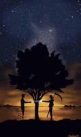 The Pear Tree by Hanatsuki89