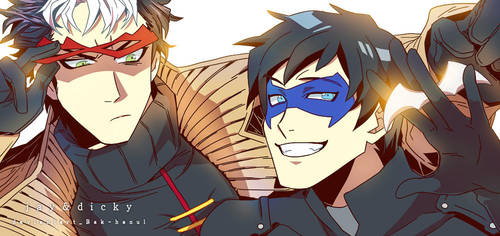 Jay and dicky together! by BAK-Hanul