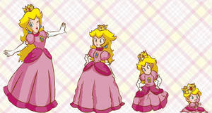 Peach age regression by Magly-Sama