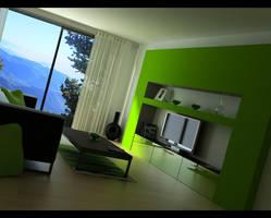Modern Interior by Nemesis-Arts