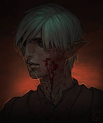 Fenris by sagasketchbook