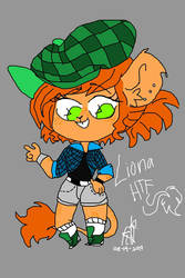 Liona the Lion (HTF OC) by TalEnny-sama